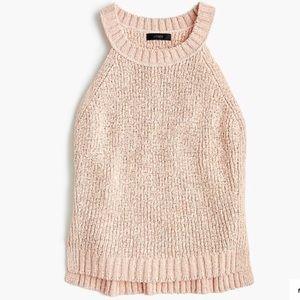 J. Crew // Point Sur Subtle Pink Sweater Tank XS